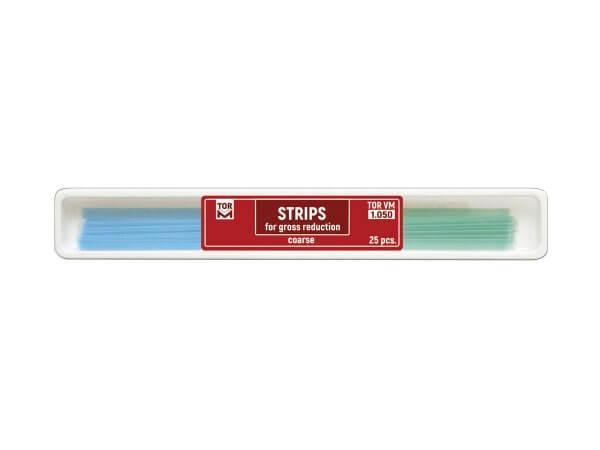 Benzi celuloid abrazive coarse green blue - 1 x 25bucati TorVm 1.050