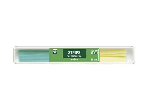 Benzi celuloid abrazive medium green yellow 25bucati TorVm 1.051
