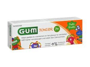 Pastă de dinți GUM Junior 7+ ani, 50 ml