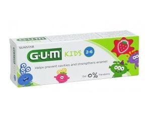 Pasta de dinți GUM Kids 2-6 ani, 50 ml