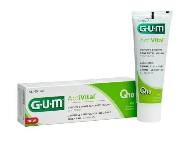 Pastă de dinți multifuncțională Gum Activital - 75 ml