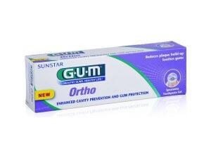 Pastă de dinți tip gel GUM Ortho - 75ml