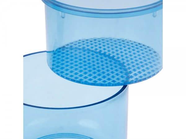 Cutie plastic autoclavabila pentru freze-albastru-detaliul 1