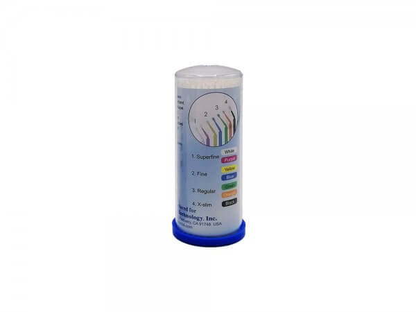 Micro aplicatoare solutii dentare TPC-alb-superfine