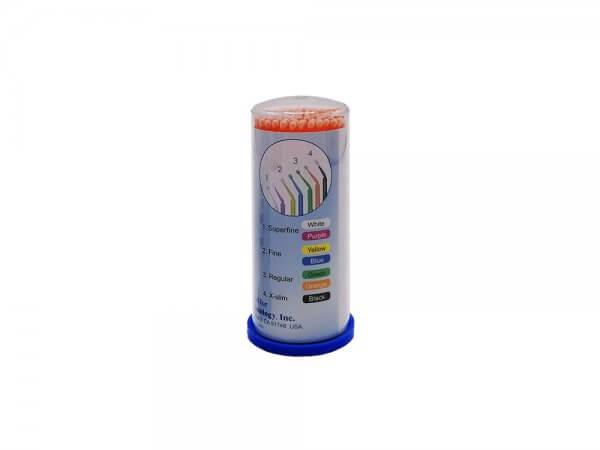 Micro aplicatoare solutii dentare TPC-portocaliu-regular