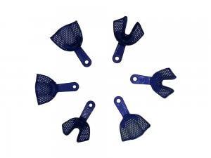 Set x 2 linguri amprenta plastic, autoclvabile, cu inserții metalice-all