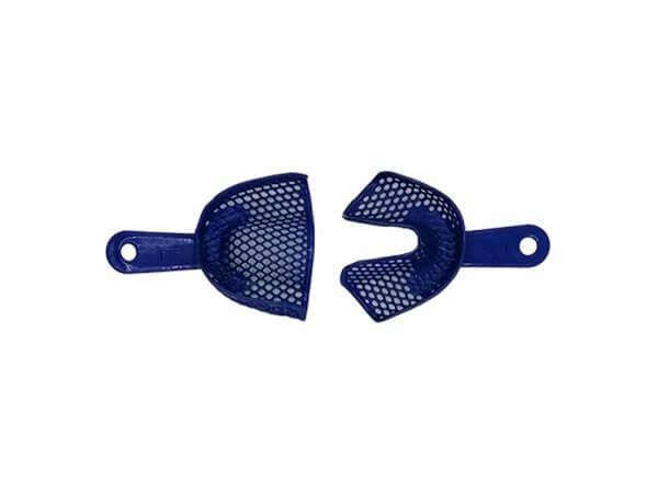 Set x 2 linguri amprenta plastic, autoclvabile, cu inserții metalice-L