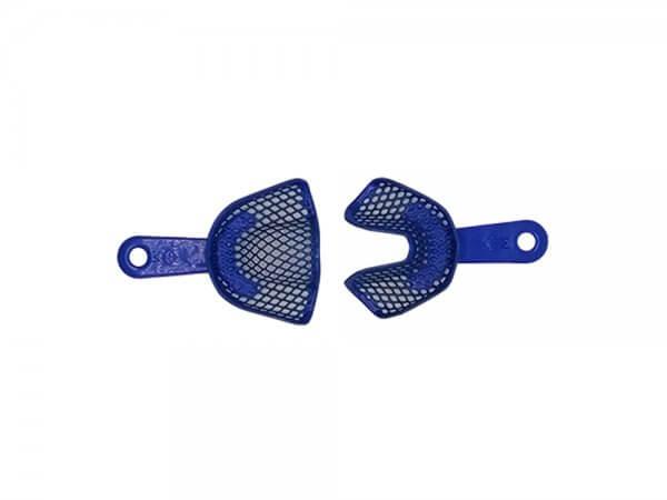 Set x 2 linguri amprenta plastic, autoclvabile, cu inserții metalice-M